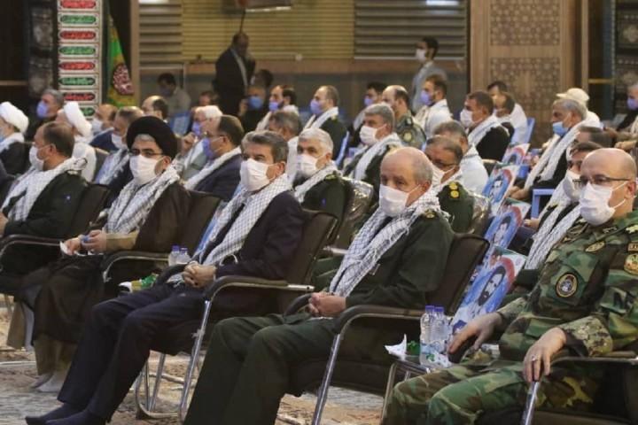 آغاز مراسم گرامیداشت هفته دفاع مقدس با فرمایشات مقام معظم رهبری