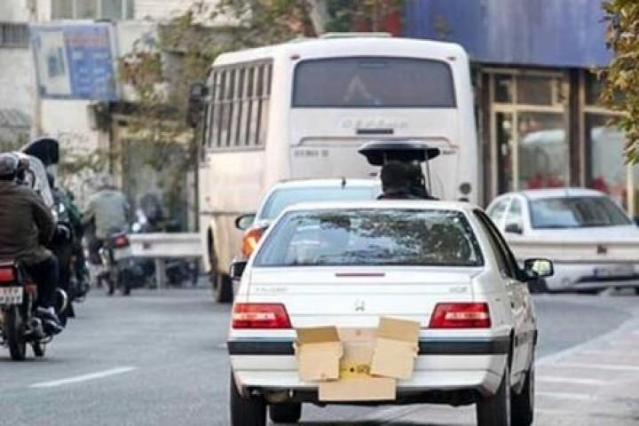 مخدوش کردن پلاک، راه انتقال جریمه از یک شخص به شخص دیگر