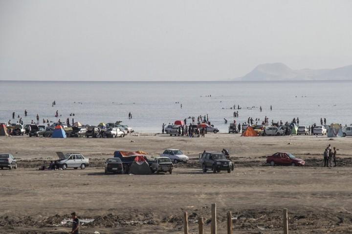 فاجعه کرونایی در سواحل دریاچه ارومیه