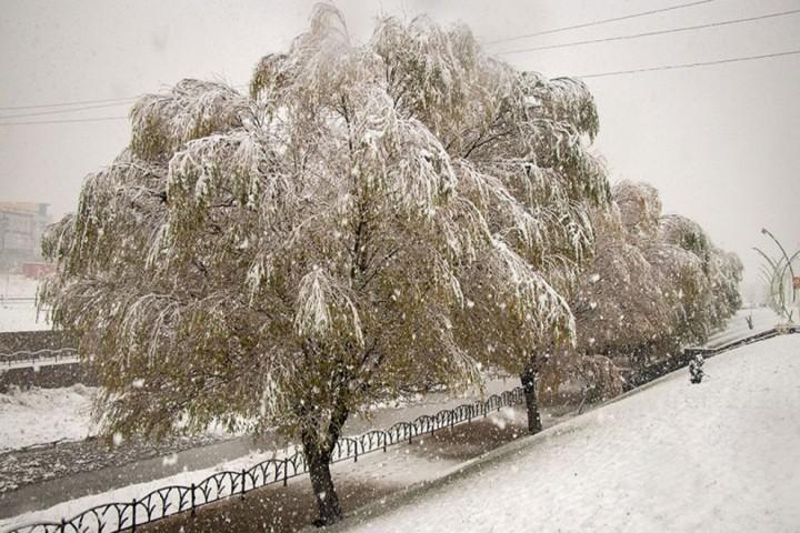 ریزش هوای سرد و ورود سامانه بارشی به آذربایجان غربی