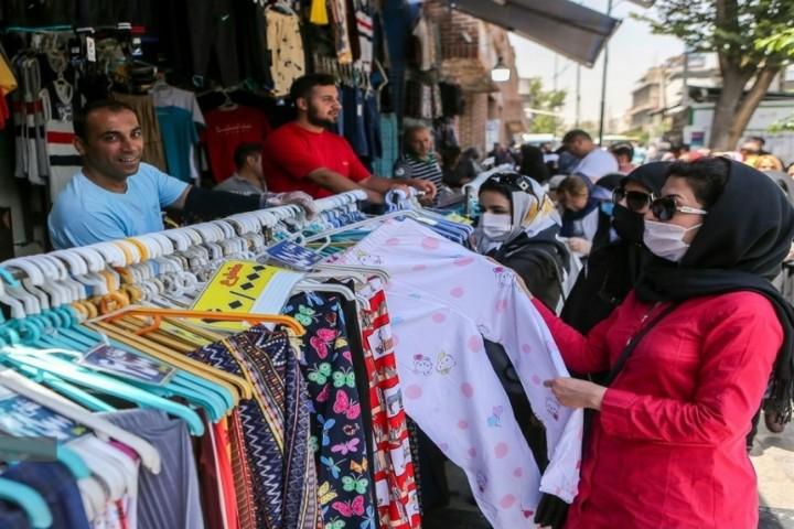 بساط کرونا در بازار ارومیه