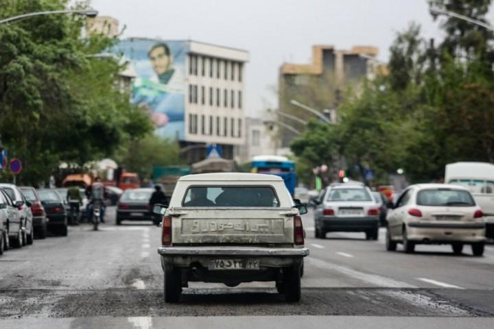 خودروهای فرسوده ،عامل اصلی نفس تنگی شهر