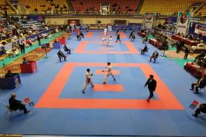حضور ۱۵ کشور خارجی در مسابقات جام و دوستی کاراته