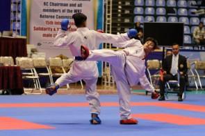 کاراتهکاهای ایرانی دارندگان بیشترین مدال در بخش نوجوانان