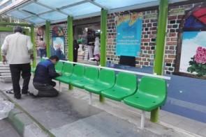 ایستگاههای اتوبوس شهری ارومیه ساماندهی شده است