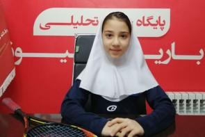 ورزشکار نونهال آذربایجانغربی رنکینگ یک اسکواش کشور