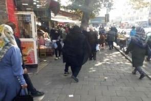 پرسه مرگ در خیابان های ارومیه / بی توجهی مردم به بحران کرونا
