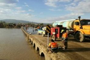 هزینه کرد 40 میلیاردی برای بازسازی پل پوش آباد
