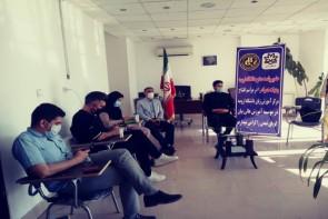 نشست خبری مسئولان موسسه آموزش عالی زبان های خارجی بیان گویای تمدن با اصحاب رسانه
