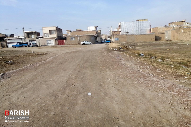 وضعیت خیابان تعاون آهندوست