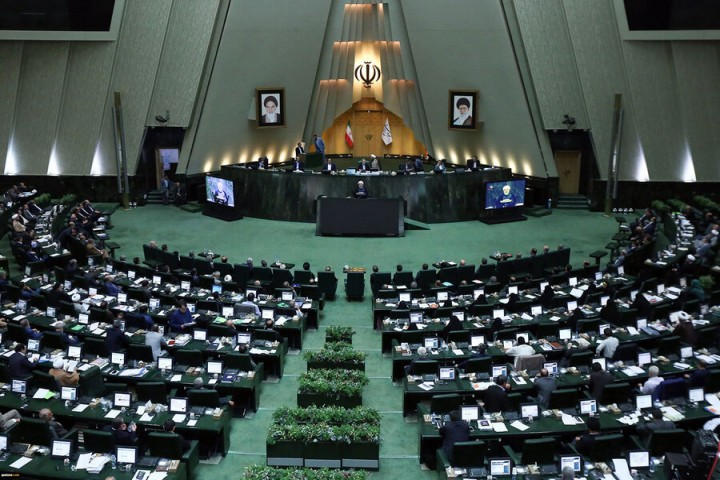 رئیس مجلس فهرست وزیران پیشنهادی را اعلام وصول کرد