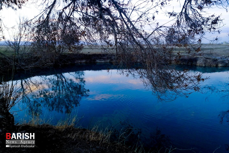 طبیعت زیبای تالاب روستای گلمرز ارومیه