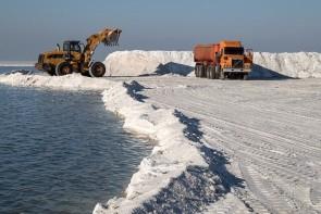 عدم بهره برداری صحیح از نمک دریاچه ارومیه