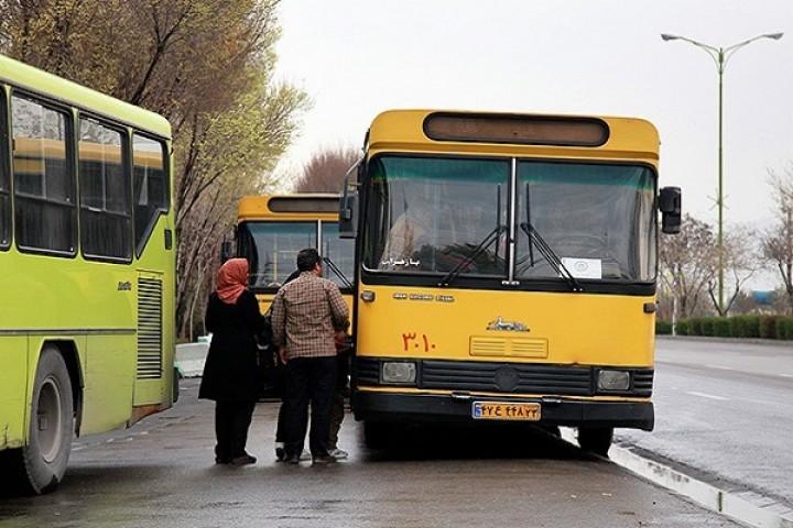مشکلات اتوبوس های شهری در ارومیه